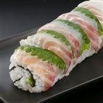 【予約】【11/6の配送に限る】 魚屋の鮨 真鯛巻き鮨 ハーフ