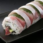 【予約】【11/6の配送に限る】 魚屋の鮨 オリーブはまち巻鮨 ハーフ