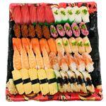 北海道産ほたてが嬉しい味わい握り寿司 30貫(わさび抜き)1パック(火曜日の販売はございません)