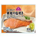 トップバリュ 銀鮭の塩焼き 1切