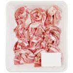トップバリュ 国産  豚肉かたロース切りおとし(しゃぶしゃぶ用) 250g(100gあたり(本体)248円)1パック