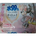 レック 水99%手・口ふき ミッキー&ミニー 60枚×3コ