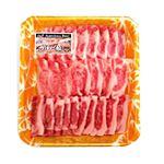 アメリカ産 牛肉ばらカルビ焼肉用 265g(100gあたり(本体)295円)