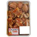 若どりもも味付焼肉用(醤油もろみ)原料肉/アメリカ産 解凍 300g(100gあたり(本体)128円)1パック