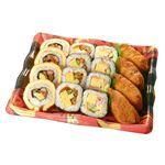 【パーティーメニュー予約】【4~10日後配送】伊達巻入寿司盛合せ 3~4人前 1パック