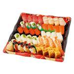 【お家で楽しむごちそう予約】【4~10日後配送】握り寿司盛合せ 4人前【わさび抜き】1パック