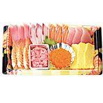 【14時からの配送それ以前は不可】寿司種セット(えび・玉子・鮪たたき・とびっこ)1パック