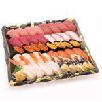 【予約商品】【1/1(水)~1/2(木)配送】本まぐろが自慢の握り寿司 40貫 1パック