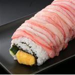 【予約】【11/6の配送に限る】 魚屋の鮨 紅ずわいがにが入った巻鮨 1本