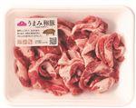 ・トップバリュ うまみ和豚 国産豚肉切りおとし 200g(100gあたり(本体)170円)