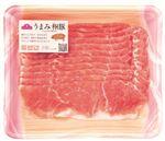 ・トップバリュ うまみ和豚 国産豚肉もも超うす切り 200g(100gあたり(本体)199円)