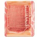 ・アメリカ産豚肉ロースうす切り 300g(100gあたり(本体)147円)