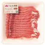 ・トップバリュ うまみ和豚 国産豚肉ロース超うす切り 200g(100gあたり(本体)249円)