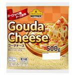トップバリュベストプライス ヨーロッパ産チーズ使用 ゴーダチーズ 500g