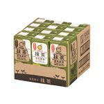 ・【ケース販売】 マルサンアイ 抹茶豆乳 200ml×12本