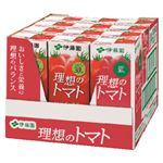 ・【ケース販売】 伊藤園 理想のトマト 200ml×12本