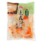 国産野菜 トップバリュ とん汁用水煮 250g入 1袋