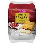 トップバリュ アイスモナカ あずき入りバニラ(80ml+モナカ皮)×4個 【冷凍】