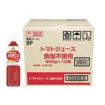 ・【ケース販売】トップバリュベストプライス トマトジュース食塩不使用 900g×12