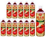 ・【ケース販売】デルモンテ 食塩無添加トマトジュース 桃太郎ブレンド 900g×12