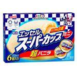 明治 エッセルミニバニラ 90ml×6個 【冷凍】