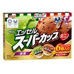 明治 エッセルミニ抹茶チョコ 90ml×6個 【冷凍】