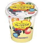 ・北海道乳業 フルーツサラダヨーグルト大容量 300g