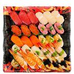 【火曜日配送不可】10種海鮮の味わい握り寿司 3人前【ワサビなし】