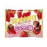 明治 ストロベリーチョコレートミルクな苺 28g