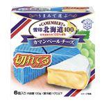 雪印メグミルク 北海道100 カマンベール 切れてるタイプ 100g