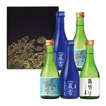 【予約】【8/11(水)~8/15(日)のお届け】 佐々木酒造清夏涼酒セット SR-30(300ml×5)