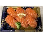 【魚屋の鮨】asc認証 アトランティックサーモンにぎり寿司 6貫 ※わさび抜き