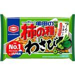 亀田製菓 亀田の柿の種わさび 6袋詰 182g