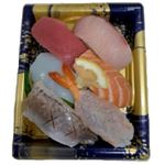 魚屋のにぎり鮨(えび入)5貫 1パック