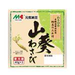 マルキン食品 元気納豆 山葵 40g×3個