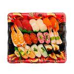 【火曜日配送不可】10種海鮮の味わい握り寿司 2人前【ワサビなし】