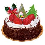 【クリスマス予約】【12月24日、25日の配送になります】 レニエグランメゾン ショコラ フレーズ 直径約15cm×高さ約13cm