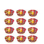 【特別予約商品】【11月27日~29日配送】【ケース販売】マルちゃん 麺づくり 鶏ガラ醤油 97g×12個入