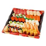 【お家で楽しむごちそう予約】【4~10日後配送】握り寿司盛合せ 4人前【わさび入り】1パック