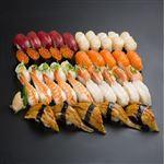 【お盆ごちそう予約 お届け期間:2020/8/9~2020/8/16】 本まぐろと北海道産ほたて入りお奨め握り寿司 45貫