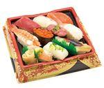 本まぐろと季節の鯛入りお奨め握り寿司 10貫【わさびあり】