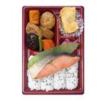 トップバリュ 紅鮭とこだわり煮物のお弁当