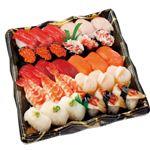【予約 1/1(水)~1/3(金)配送】ぶりほたて入握り寿司 集 30貫【わさびあり】1パック