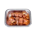 【売価変動有り】アメリカ産豚肩トンテキ用(味付け)100gあたり138円 約200g