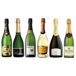 ☆【M0217】【限定5セット】世界のスパークリングワイン巡り6本セット 白泡×6本 750ml