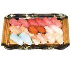 【寿司の日】【12時以降配送限定】魚屋自慢の贅沢握り鮨18貫(本まぐろ入り)