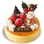 【12/23(水)~12/25(金)配送限定】【A38】お菓子のEBISU  プレミアムチーズケーキ  5号(直径約15cm)