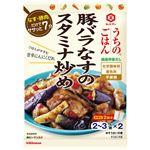 キッコーマン食品  豚バラなすのスタミナ炒め  84g(42gX2)