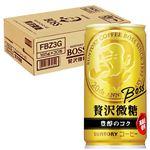 【ケース販売】ボス贅沢微糖6P 185gX6X5