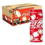 コカ・コーラ増量缶ケース 500mlx24